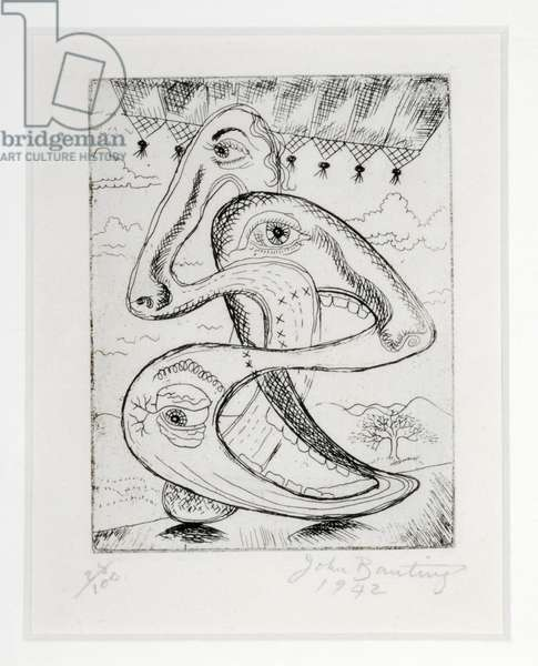 Spirit of Appeasement, 1942 (etching)