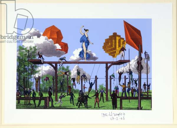 Collage 5, 2006 (digital print)