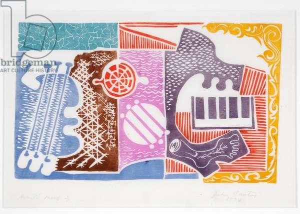 Print (colour linocut)