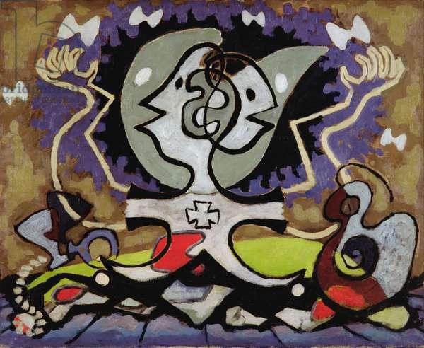 Ethiop Queen, c.1933 (oil on canvas)