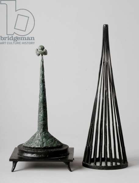 Maquette for 'The Unknown Political Prisoner', 1952 (iron)