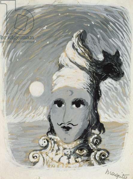 Illustration for 'Vathek', 1944 (gouache on paper)