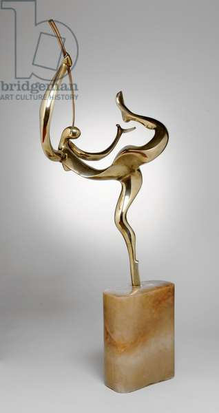 The Herald of a New Day, 1934 (brass & marble)