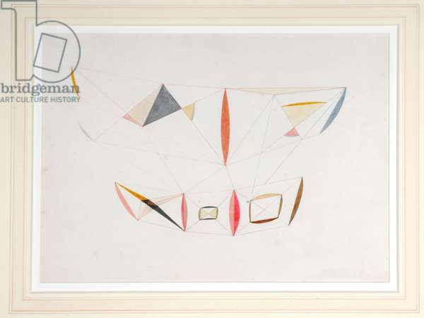 Drawing, 1937 (gouache on paper)