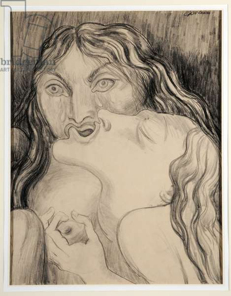 Mournful Madrigal, 1938 (pencil on paper)