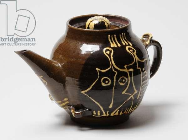 Tea pot, 1946 (ceramic)