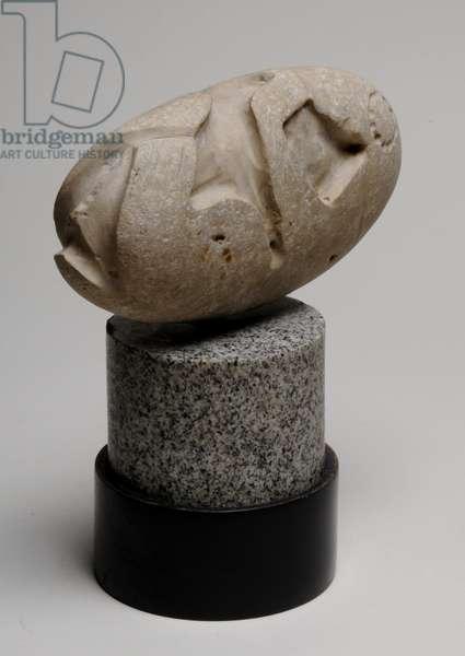 Untitled (Foetus), 1924-25 (chalk)