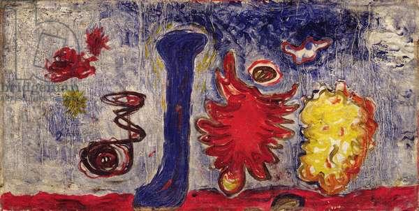 Dancing Landscape, c.1938 (oil on panel)