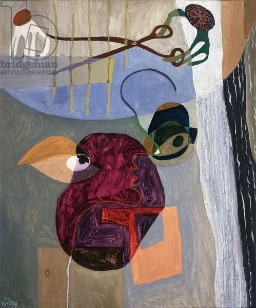 Brain Operation, 1939 (oil on canvas)