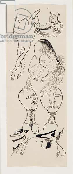 Cadavre Exquis, c.1939 (pen & ink on paper)