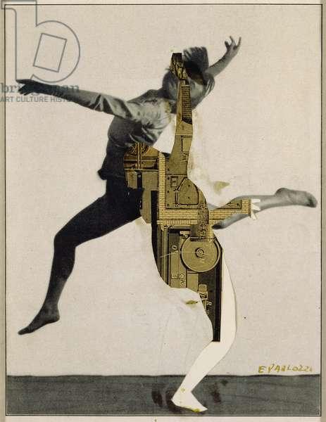 Hermaphrodite (Metaphor Time), 1960-62 (collage)