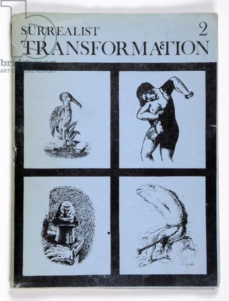 Front cover of 'Surrealist Transformaction' 2, October 1968 (litho)