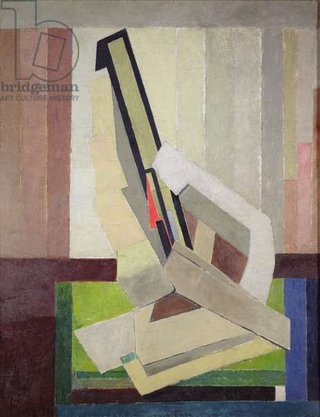 Vorticist Composition, c.1914-15 (oil on canvas)