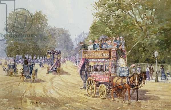 Hyde Park Corner, c.1890