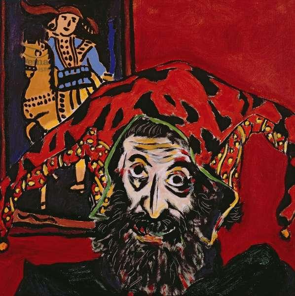 Self Portrait, 1991 (oil on canvas)