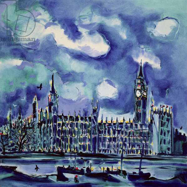 House of Commons, 1991 (oil on canvas)