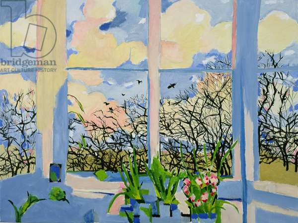 Springtime, 1990 (oil on canvas)
