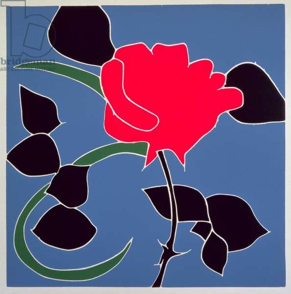 Fiji Rose (litho)
