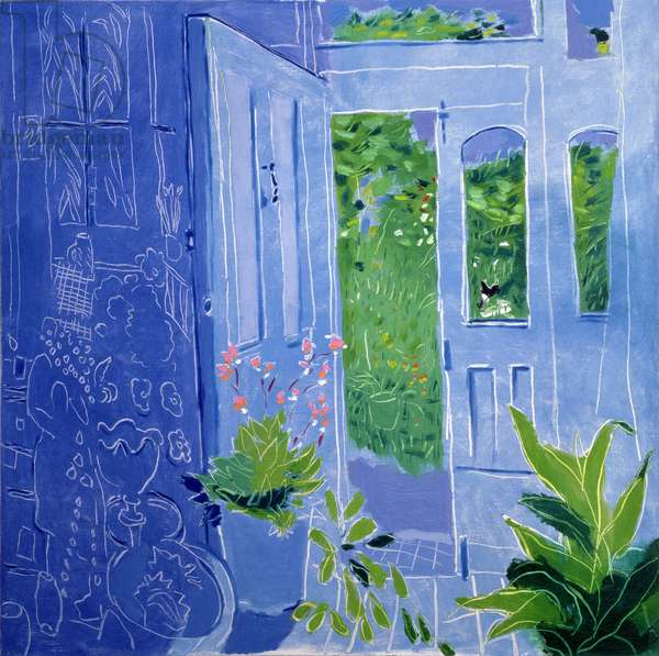 The Blue Porch, 1993 (oil on canvas)