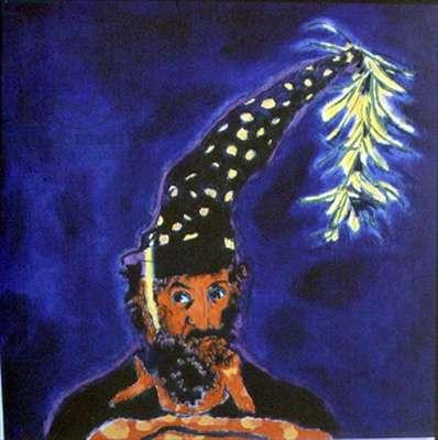 Hello Don Quixote (oil on canvas)