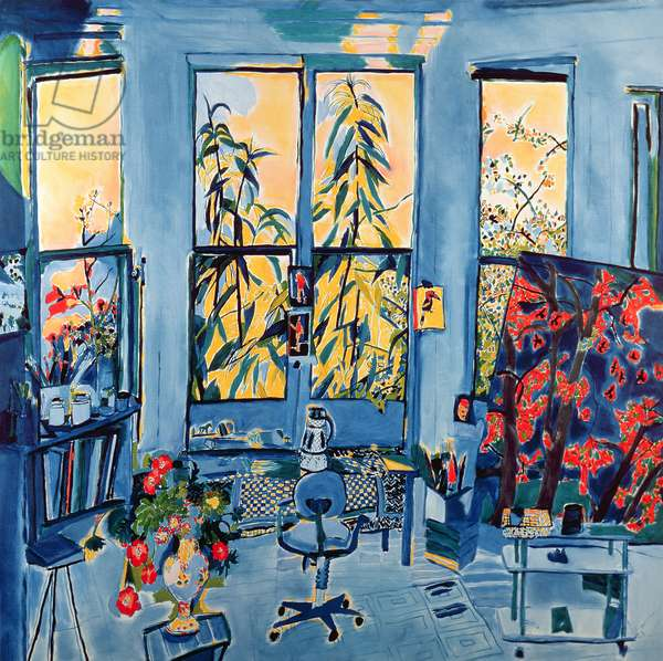Painting Room, 1991 (oil on canvas)