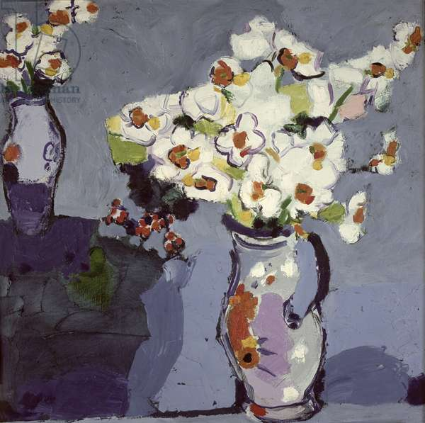 Pete Allen's Flowers, 1991-2001 (oil on canvas)
