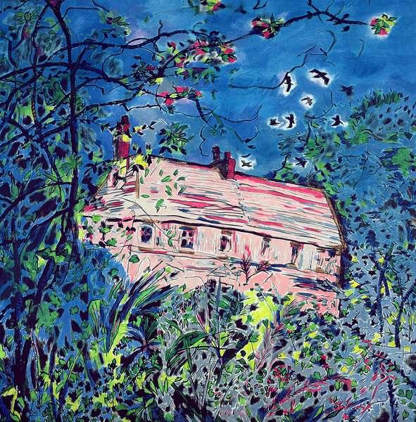 This House is Wondrous Strange! 2002 (oil on canvas)