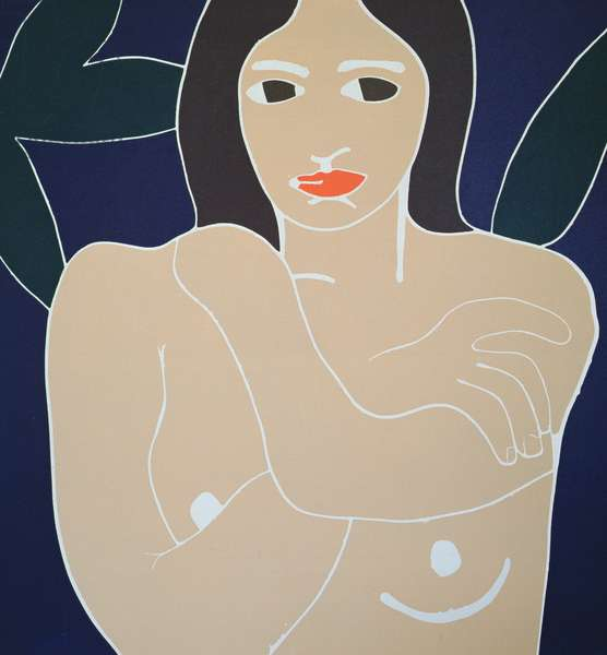 Nude (screenprint)