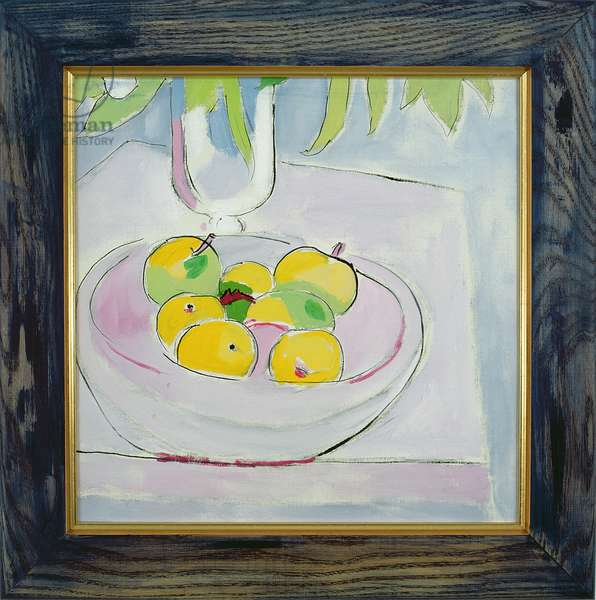 Fruit, 1990 (oil on canvas)
