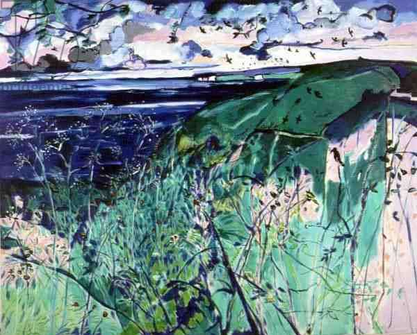 Pembrokeshire, 1990-91 (oil on canvas)