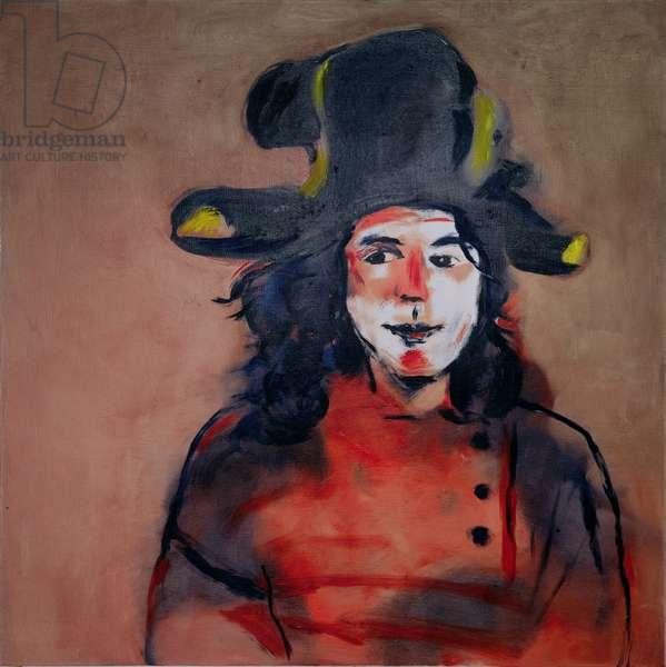 Portrait of the artist's son, Jacob Sutton, 1995 (oil on canvas)