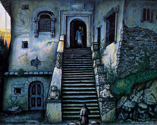 Castle Dracula, 1994 (oil on canvas)