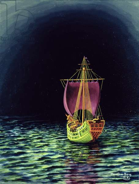 The Dawn Treader, 2000 (oil on canvas)