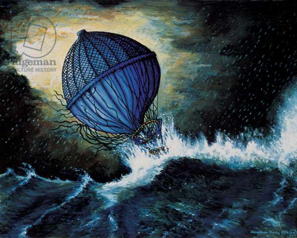 Dropped from the Clouds, 1994 (oil on canvas)