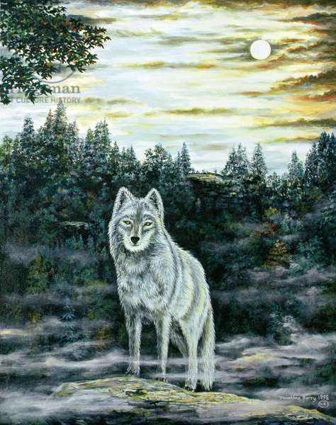 White Fang, 1998 (oil on canvas)
