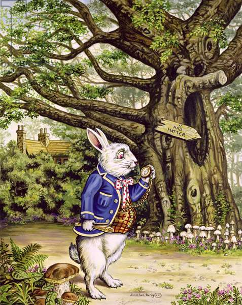 The White Rabbit, 2001 (oil on canvas)