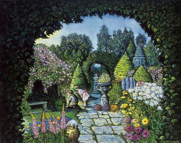 The Secret Garden, 1993 (oil on canvas)