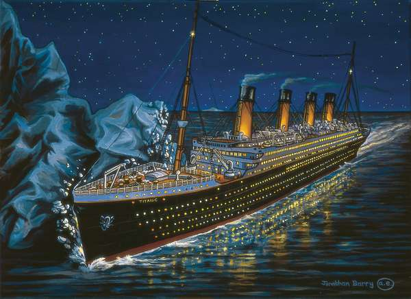 Titanic's Tragic Moment