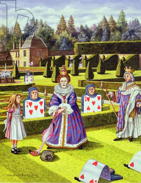 The Queen of Hearts, 1999 (oil on canvas)