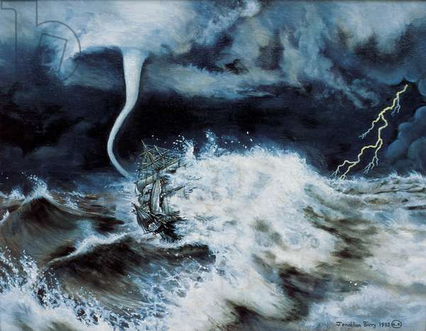 Into the Maelstrom, 1993 (oil on canvas)