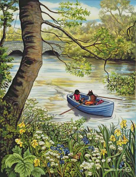 Messing Around in Boats, 2008 (oil on canvas)