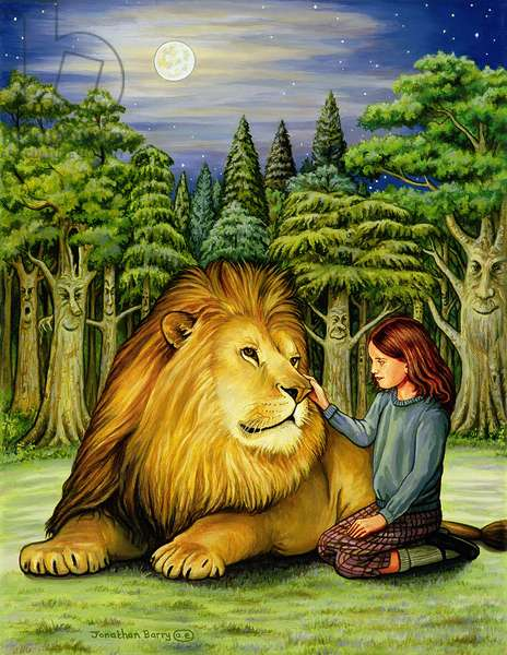Aslan's Return, 2006 (oil on canvas)