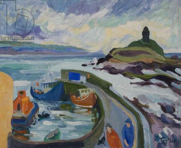 Bally Cotton, Co. Cork, 2007 (oil on canvas)