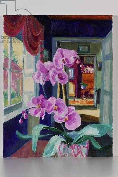 Nill Farm Interior, 2004 (oil on canvas)