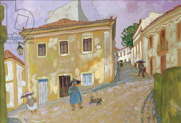 Montchique, Portugal, 2004 (gouache and w/c on paper)