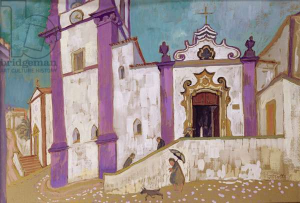 Silves, Portugal, 2004 (gouache and w/c on paper)