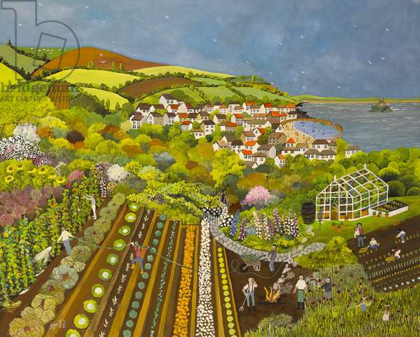 Allotment above Mousehole