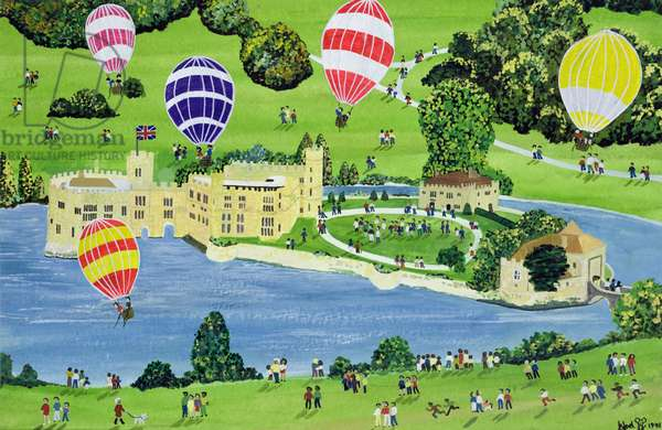 Ballooning at Leeds Castle