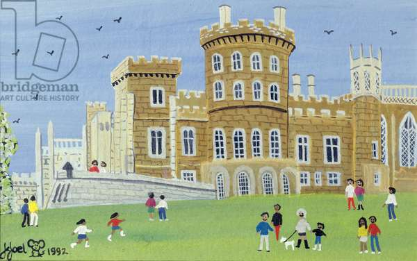 Belvoir Castle, 1992 (w/c)