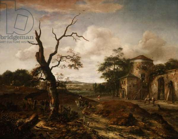 Wooded landscape near Haarlem, 1659